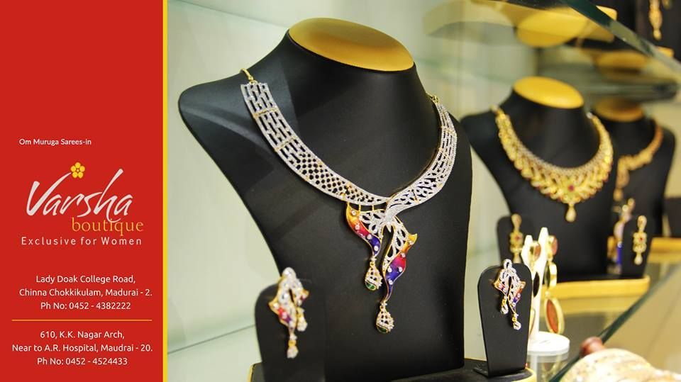 party ware Jewels The gorgeous woman look comes from the wear of ...