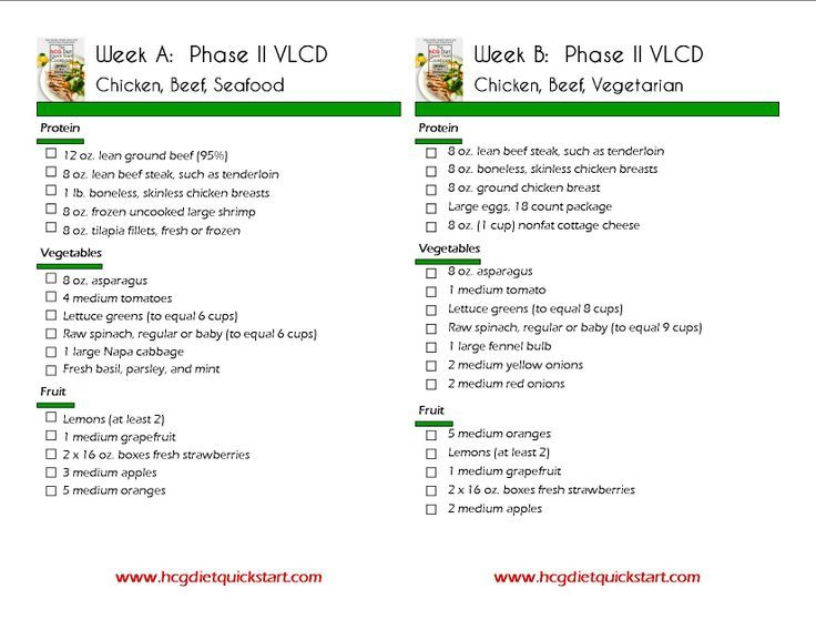 hcg diet menu phase 2 - Google Search HCG Recipies Pinterest - menu list sample