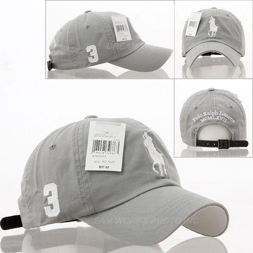 8793b5f1f27e1 Men Women Big Pony Classic Baseball Ball Cap Outdoor Sports Polo Hats  Unisex