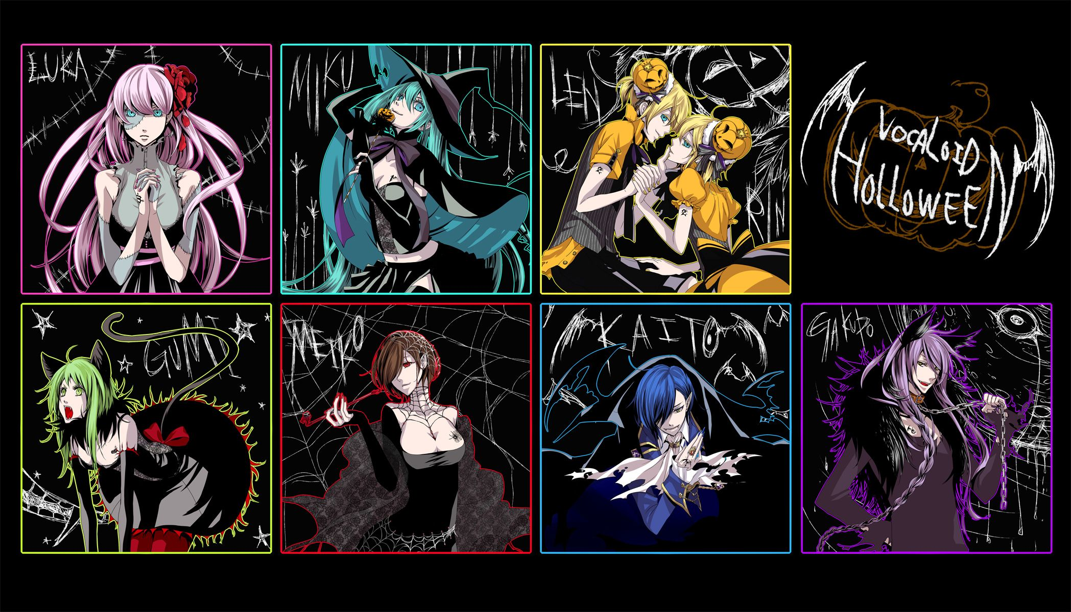 Vocaloid Halloween | Vocaloid | Pinterest | Vocaloid and Anime