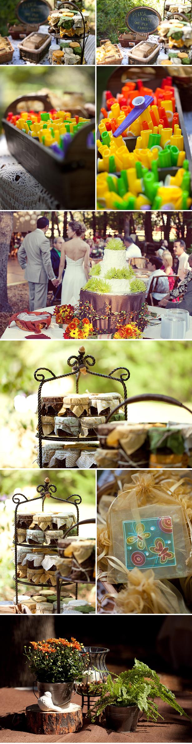 real backyard diy wedding ashley chris weddingwire the blog