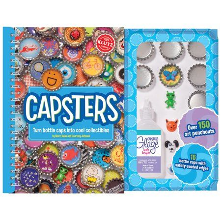 Klutz Capsters Kit Multicolor Craft Kits Cool Stuff Crafts