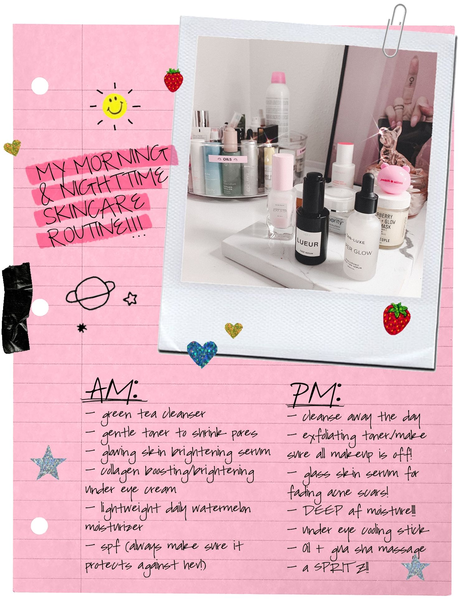 My Morning & Nighttime Skincare Routine for