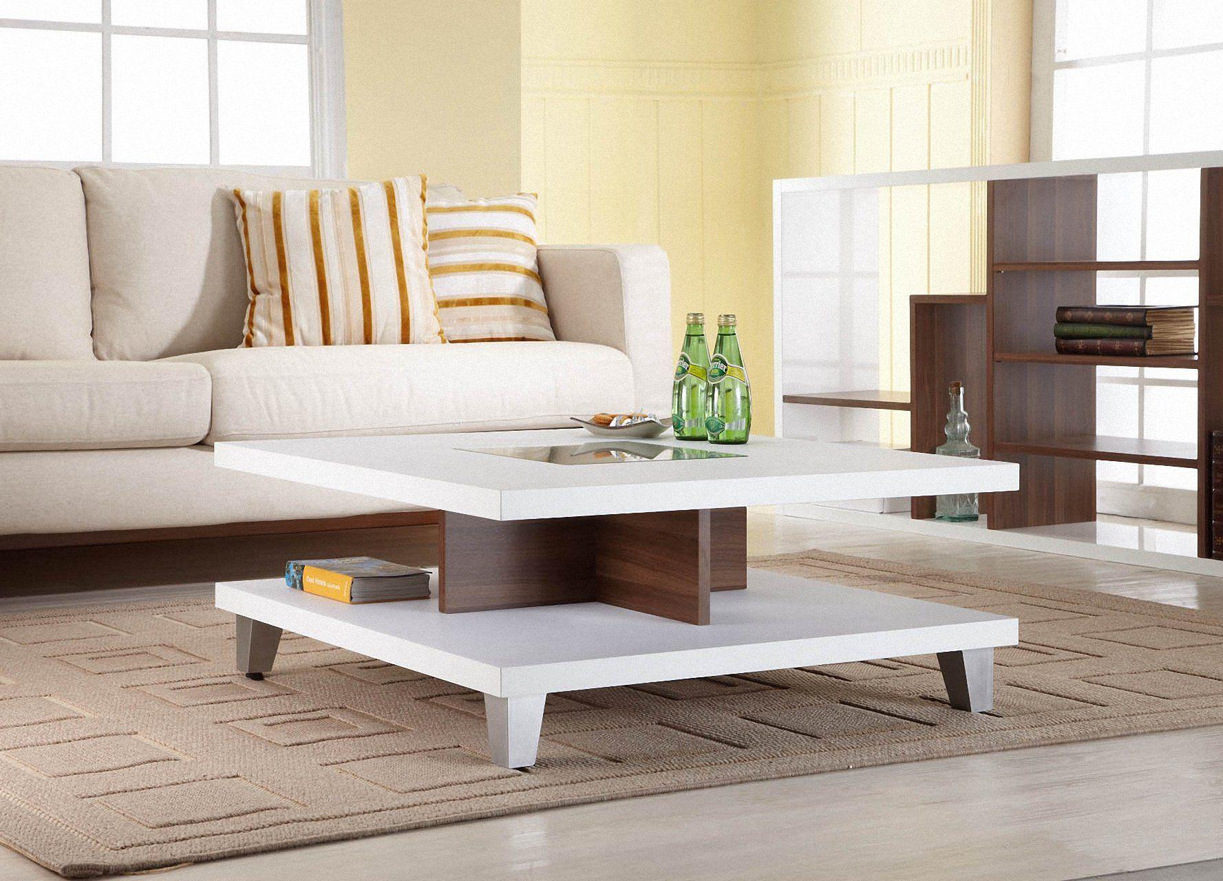 Amazon Com Enitial Lab Lendon Square Coffee Table White Coat