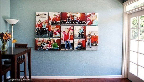 Идеи вашего дома | Коллаж из картин на стене, Настенный ...