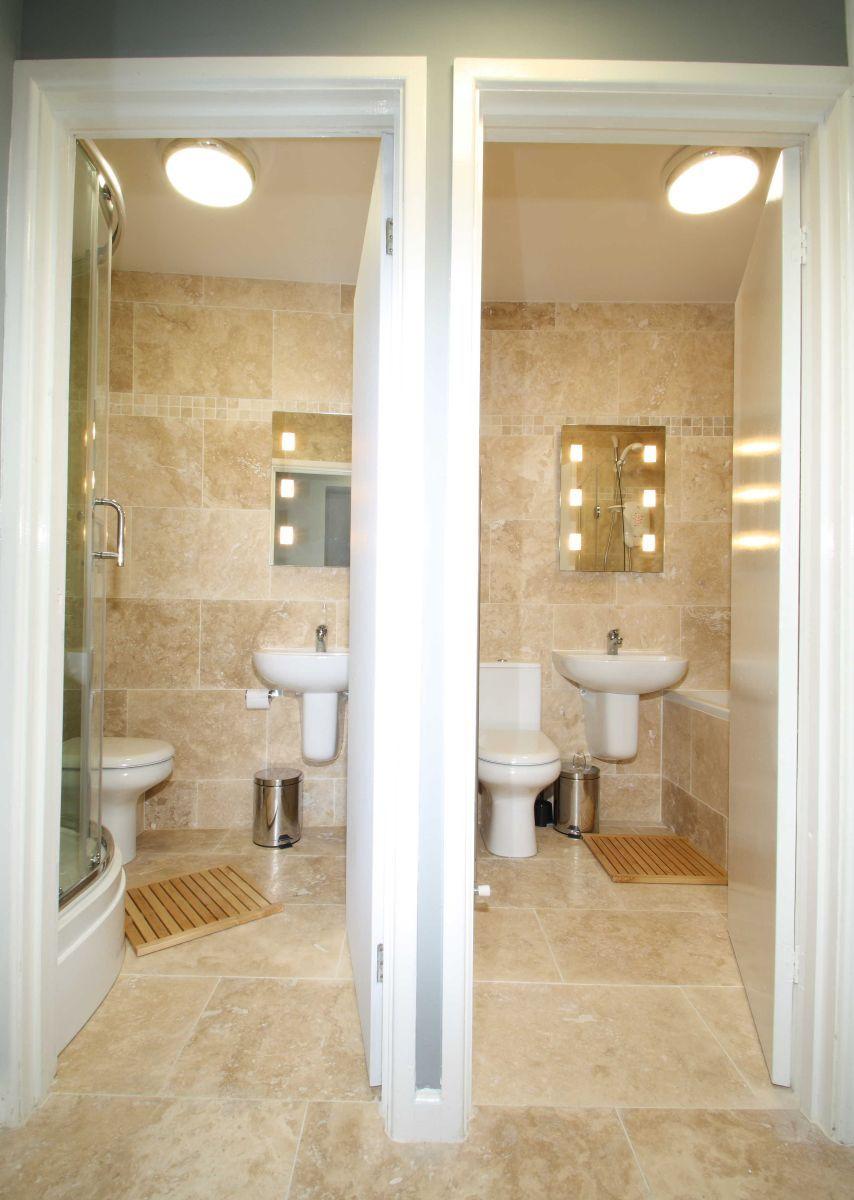 2 separate travertine bathrooms. 62a Lenton Boulevard 6 Bedroom ...