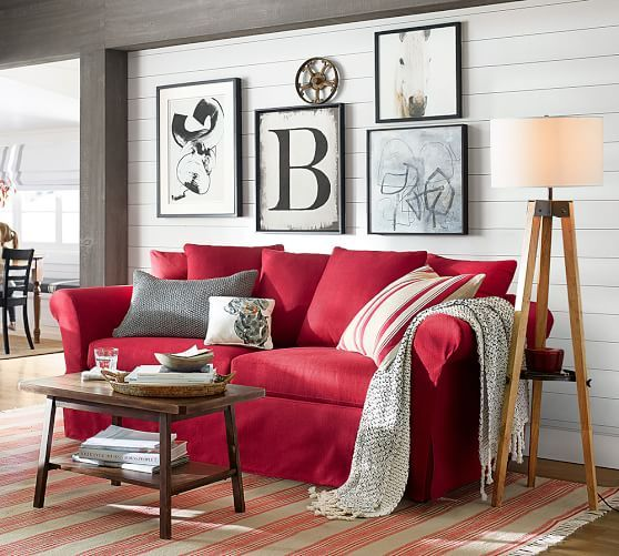 Pin On Living Room Red