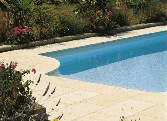 dallages béton piscine   dallage abbaye   dalles structurées ... - Carrelage Pierre Reconstituee Interieur
