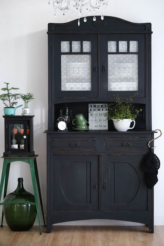 shabby chic Kleiderschrank, Vintage Möbel, Retro | My Dream ...