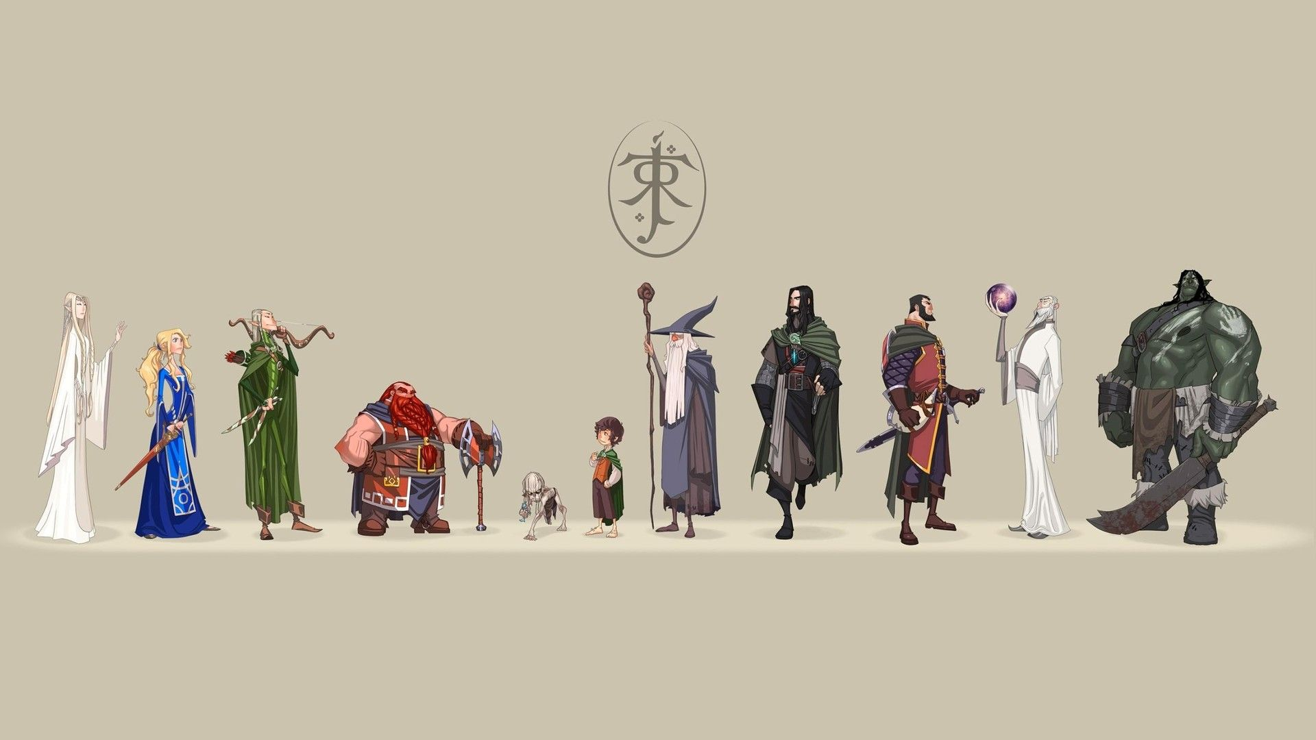 Anime Style Lotr 1920x1080 Followme Cooliphone6case On