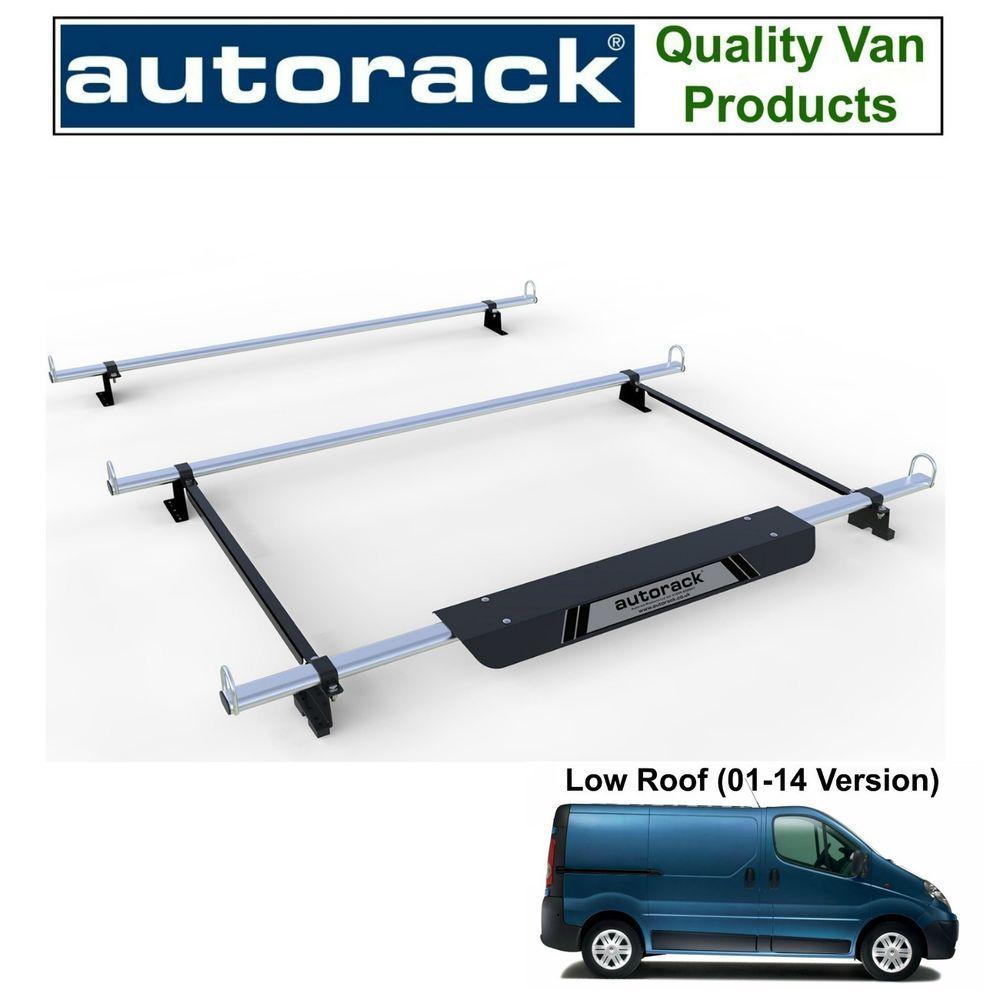Roof Rack for Vauxhall Vivaro (Mk1 01to14) 3 Ladder