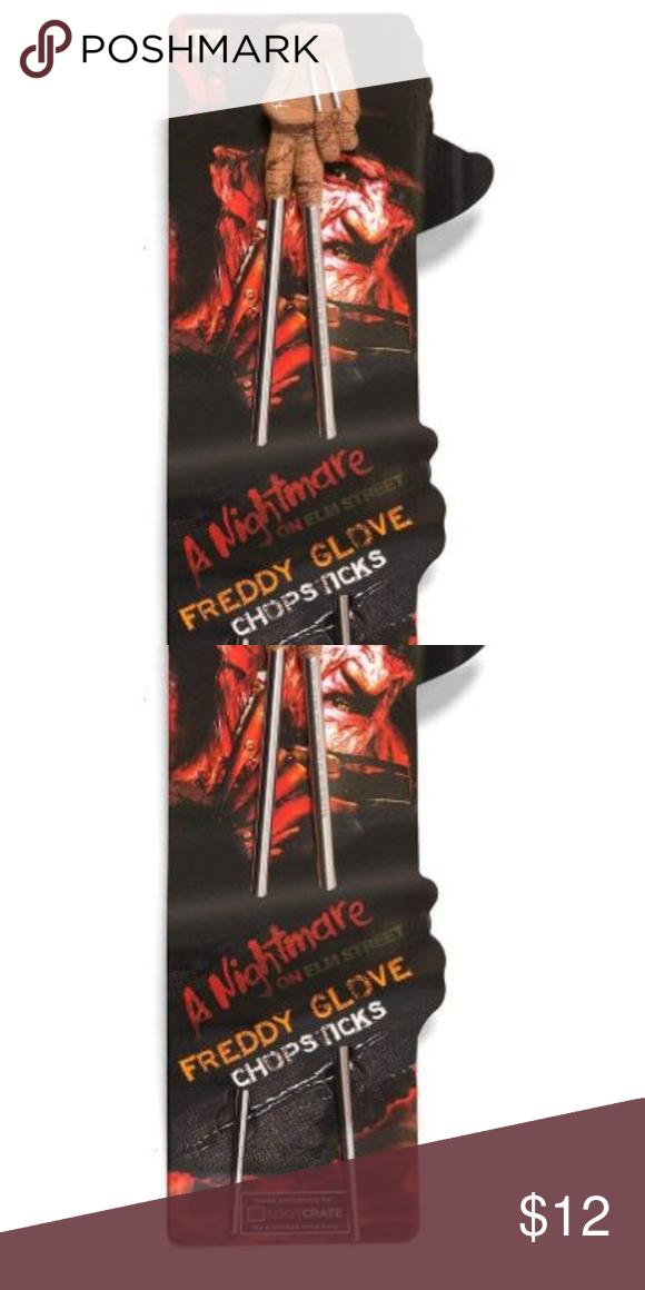Nightmare Elm Street Freddy Krueger Glove Chopstix Freddy Krueger Nightmare On Elm Street Elm Street