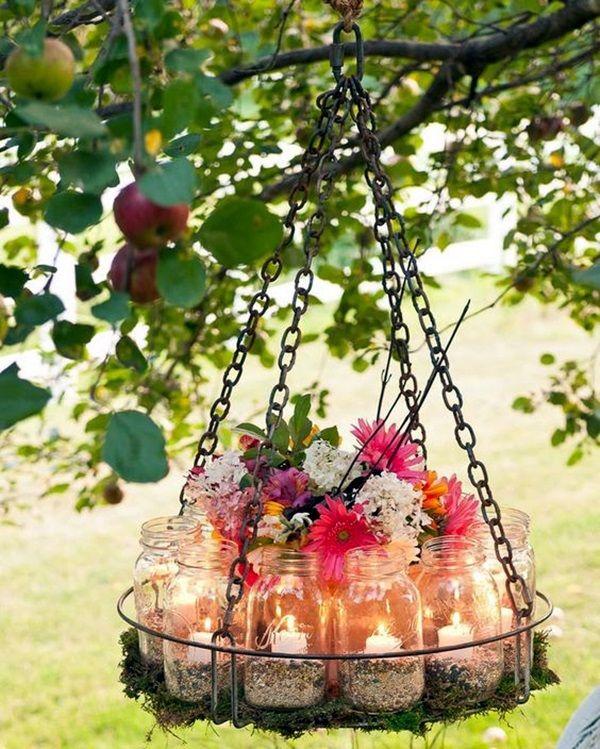 40 Stylish Garden Chandelier Ideas