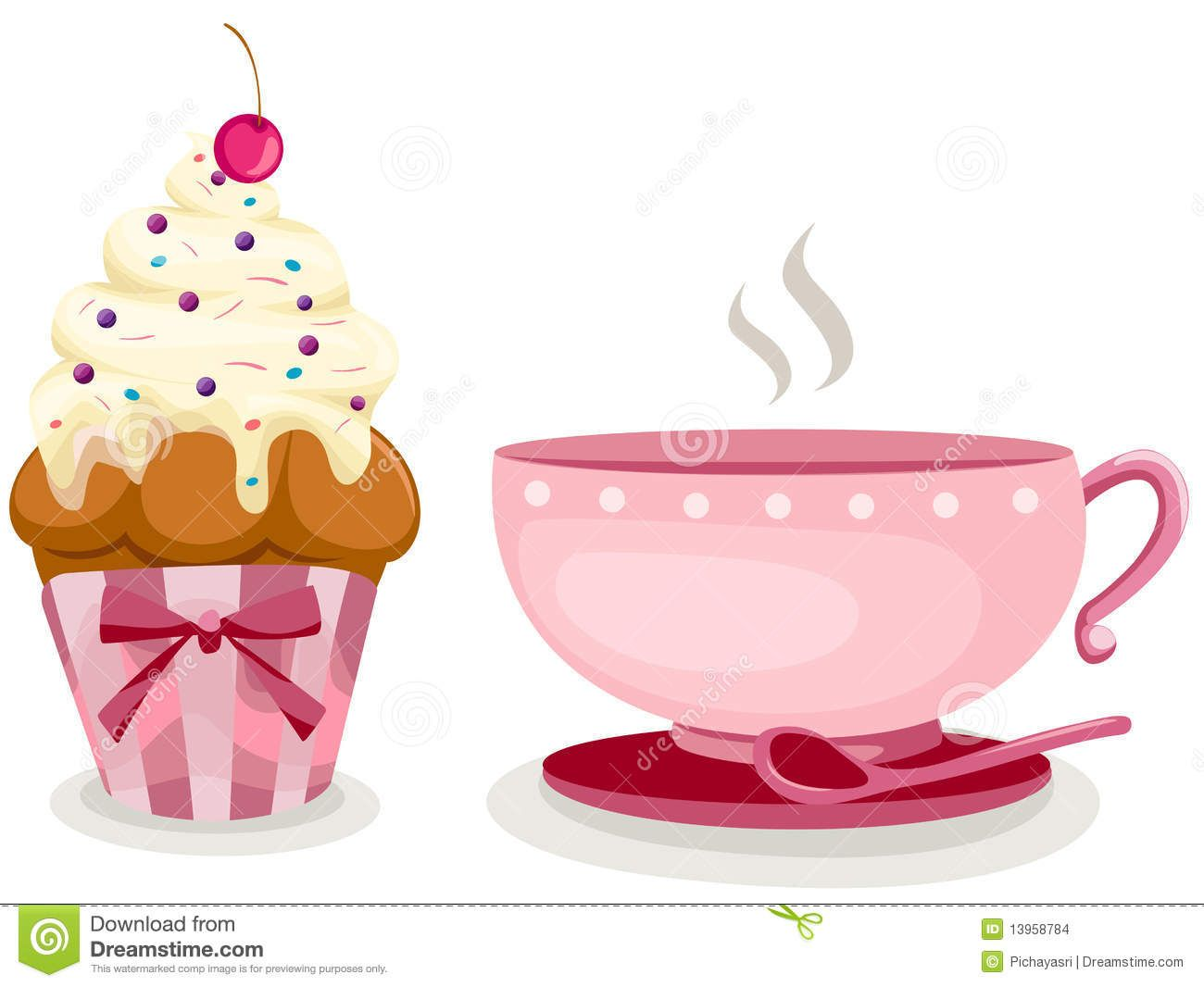 Clipart Kuchen Und Kaffee Coffee And Cupcakes Google Search The Best Part Of Waking Up