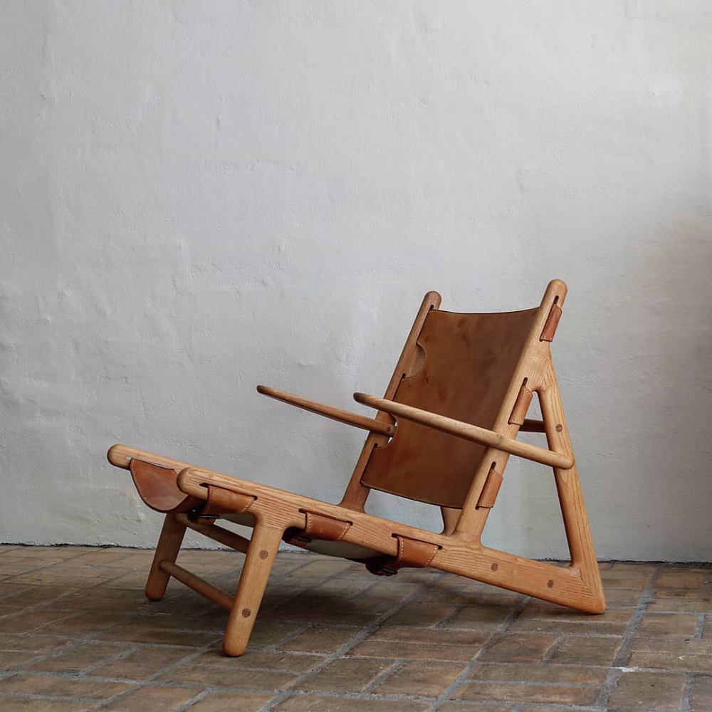 The Hunting Chair designed by Børge Mogensen. #huntingchair