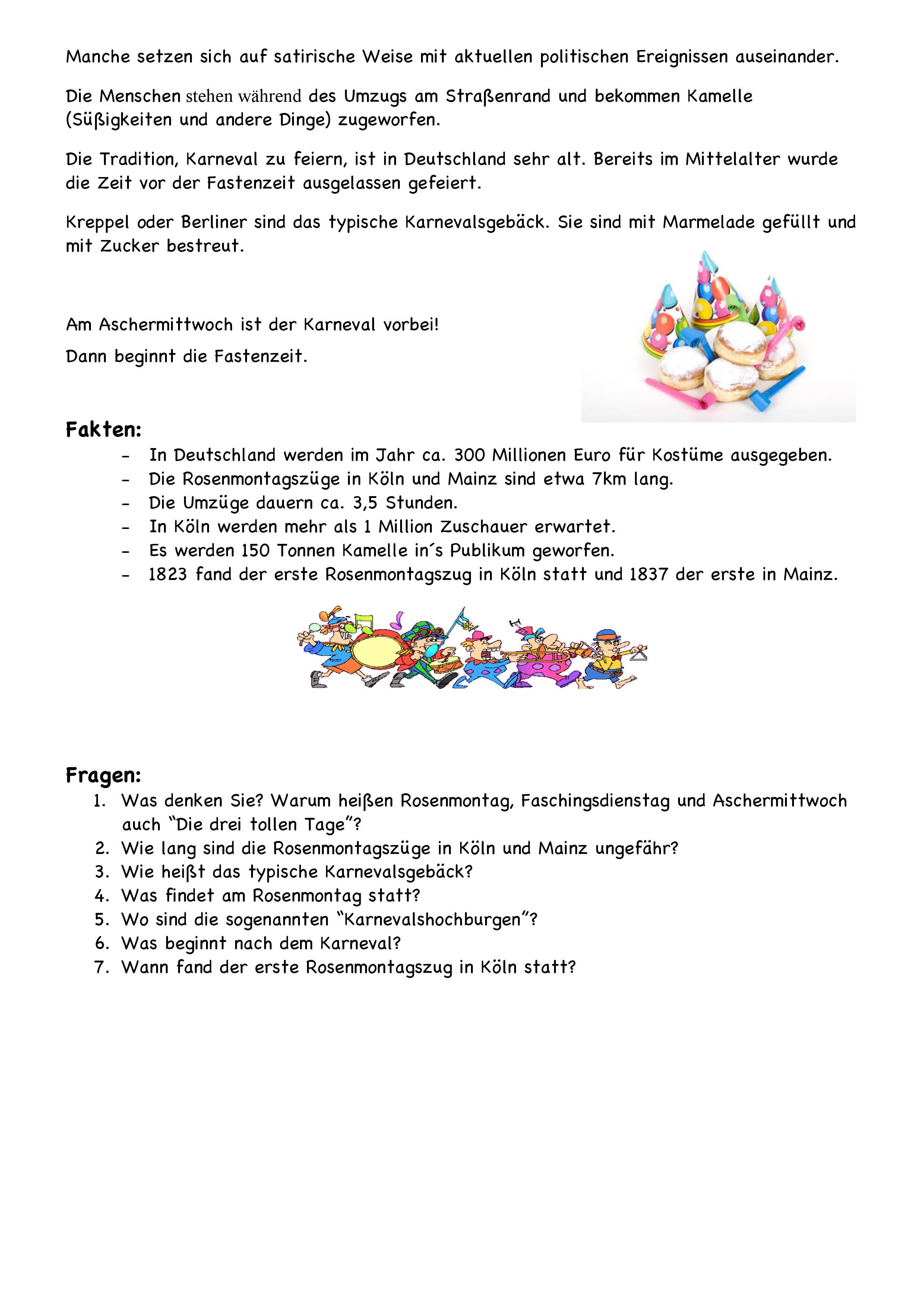 Seite 2   DaF Arbeitsblätter   Pinterest