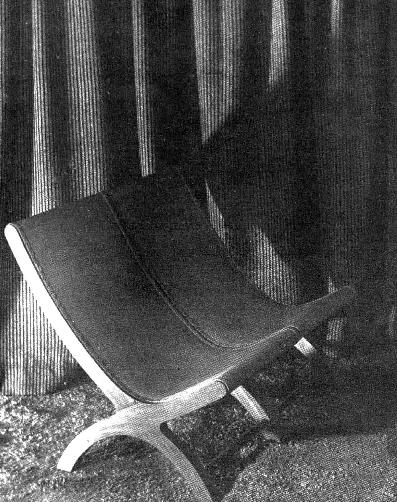 1948 chair of the Oaxaca region in an updated design by Clara Porset 1948