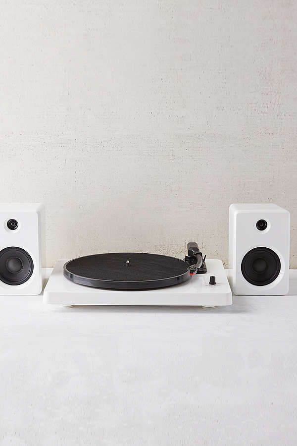 Slide View 2 Ep 33 Bluetooth Turntable With Speakers White 5 D