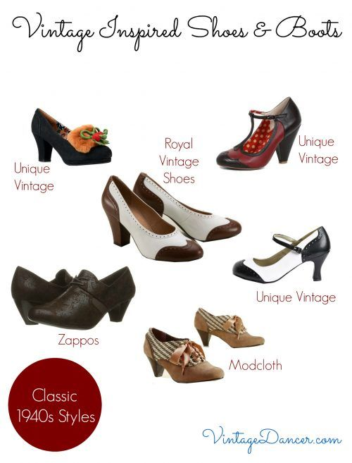Women S Vintage Shoes Boots To Buy Vintage Shoes Vintage Shoes Women Vintage Inspired Outfits