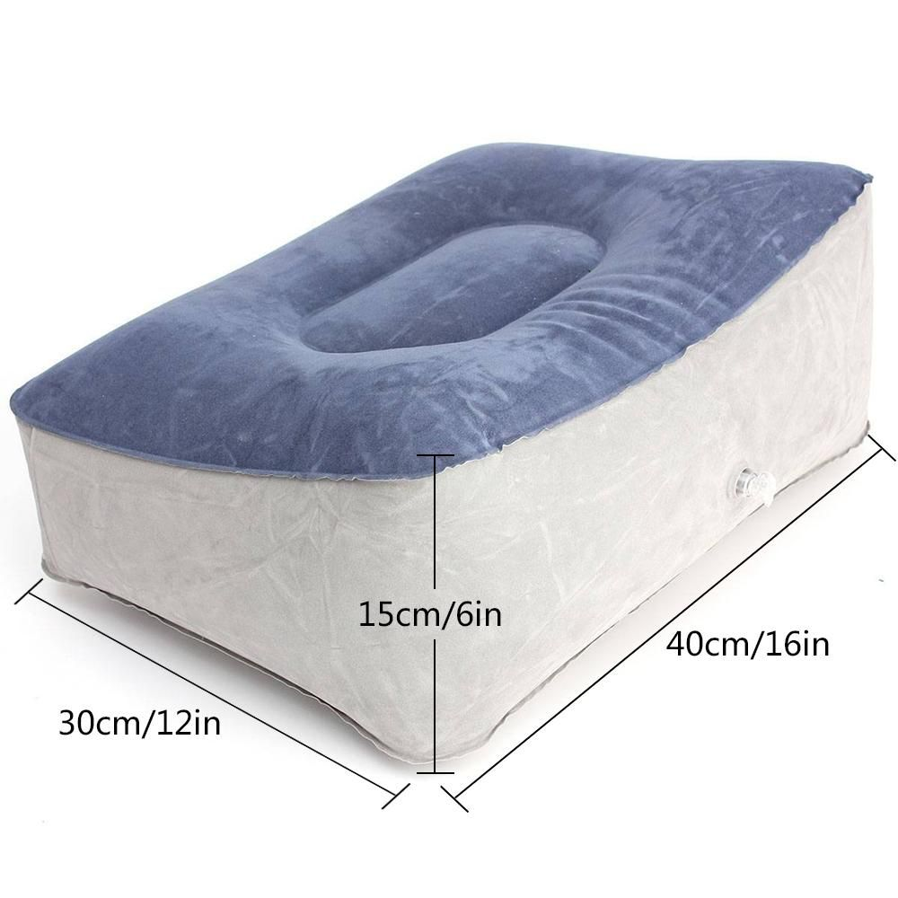 Admirable Leegoal Inflatable Foot Rest Pillow Cushion Ottomans Leg Spiritservingveterans Wood Chair Design Ideas Spiritservingveteransorg