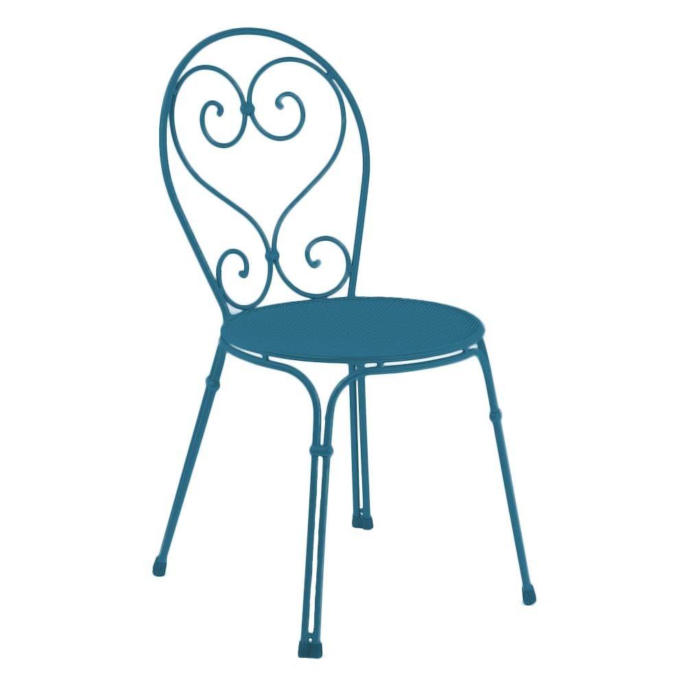 Emu Gartenstuhl Pigalle Stahl 4er Set Verschiedene Farben Gartenstuhle Stuhle Gartenmobel