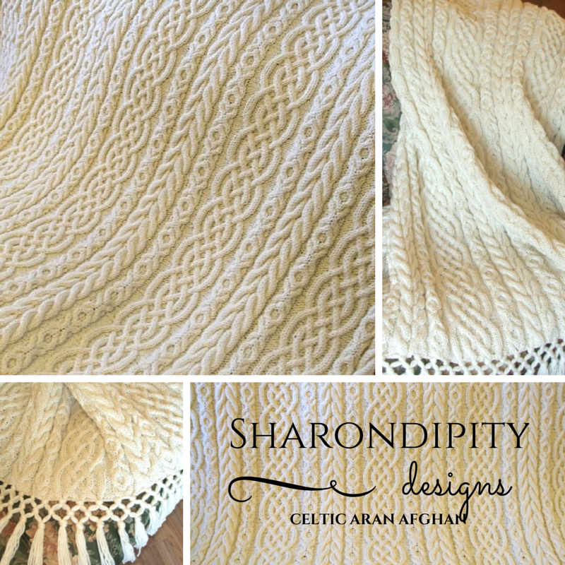 Sharondipity Designs: Celtic Aran Afghan Pattern | andrele ...