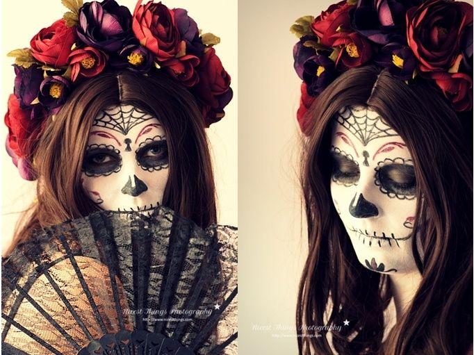 Festas Mexicanas MaquiagensVer a imagem de origem