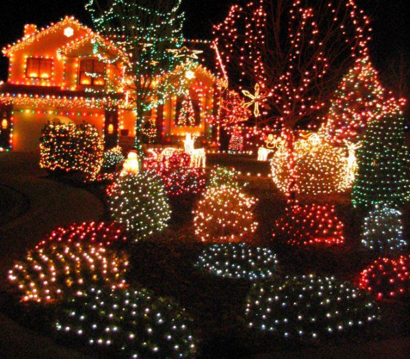 House Decorated For Christmas light house christmas decorations - house decor