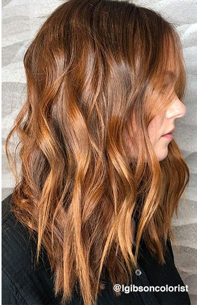 How-Tos: Customized Copper Balayage And 2-Shade Ambré