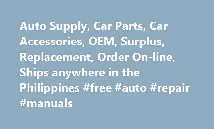 Auto Supply, Car Parts, Car Accessories, OEM, Surplus, Replacement