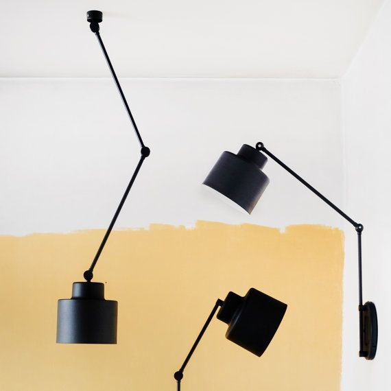 Decken Bewegliches Licht Lampe Mit Flexiblen Armen Etsy Lamp Movable Lamp Ceiling Lamp