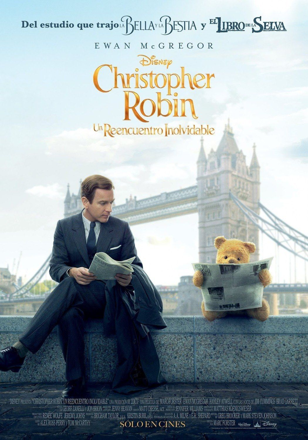 Adorable Character Posters For CHRISTOPHER ROBIN Feature Winnie The Pooh  and His Friends — GeekTyrant | Christopher robin movie, Robin movie,  Christopher robin