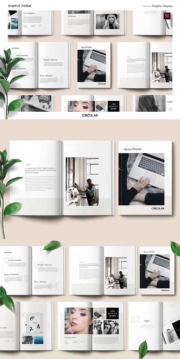 simple form    portfolio template