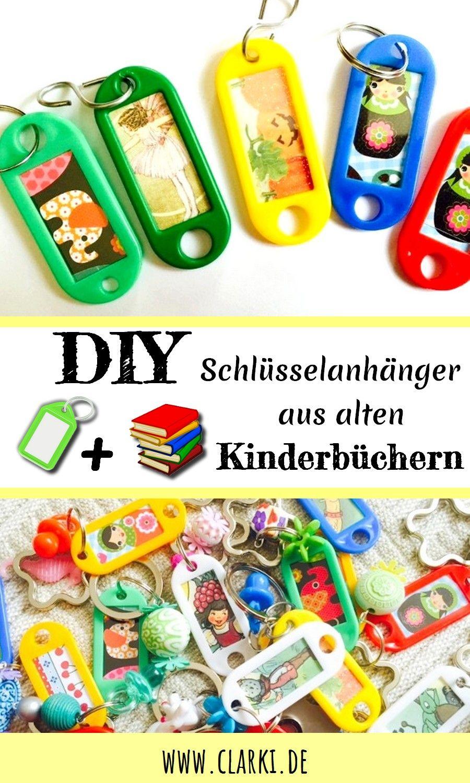 Kleines DIY Weihnachtsgeschenk: Handmade Schlüssanhänger aus alten ...