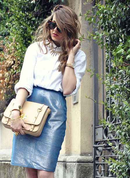 Love the bag, love the necklace, love the skirt, love it all