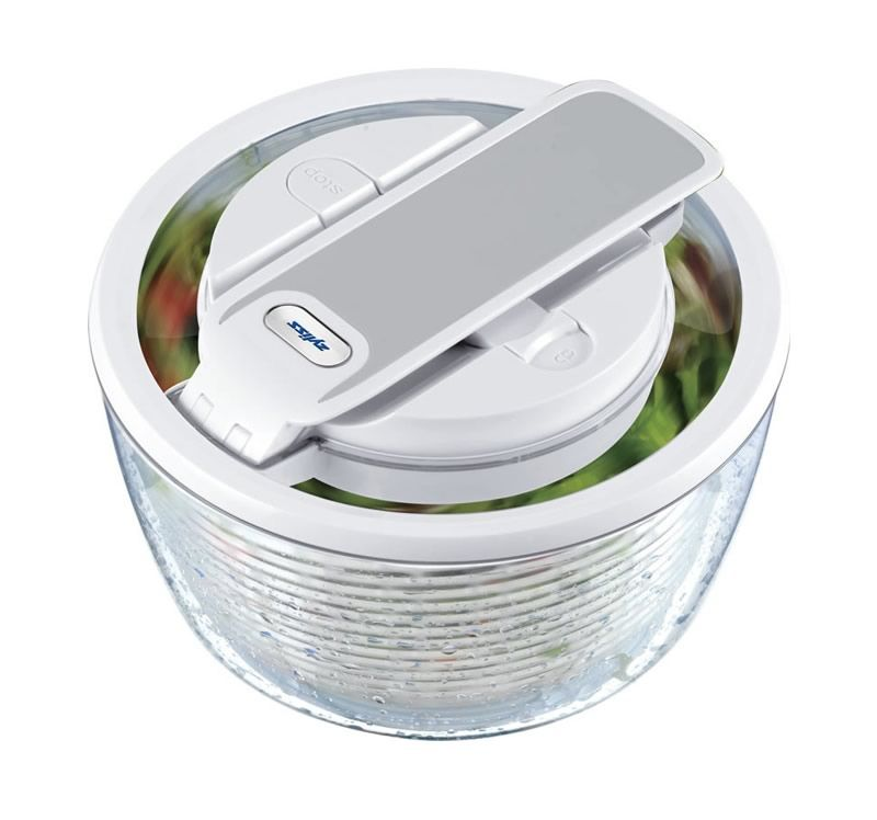 The Award Winning Zylissusa Smart Touch Salad Spinner Features