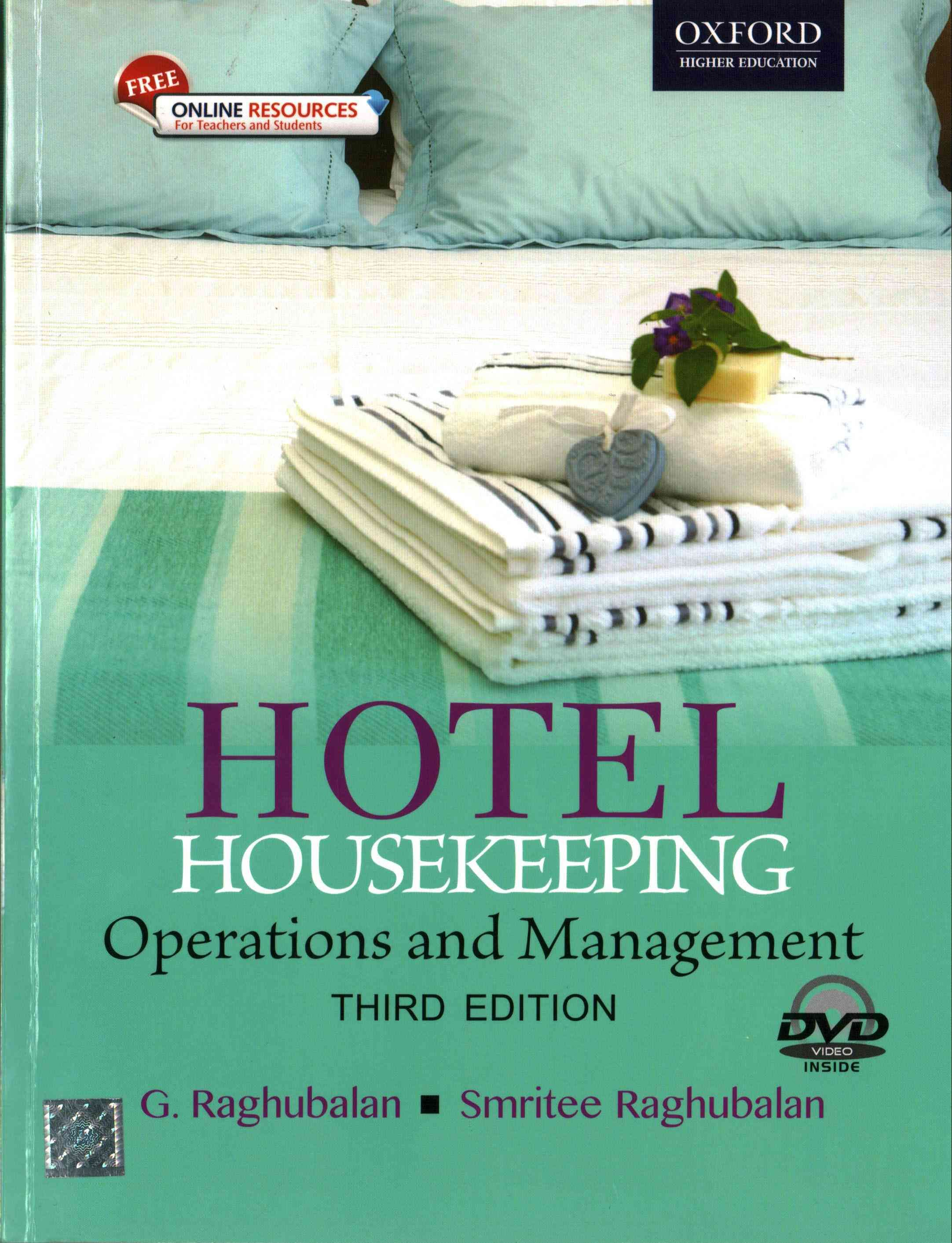 The third edition of Hotel Housekeeping continues to provide a  comprehensive and lucid coverage of the subject. The book explores the key  elements of ...