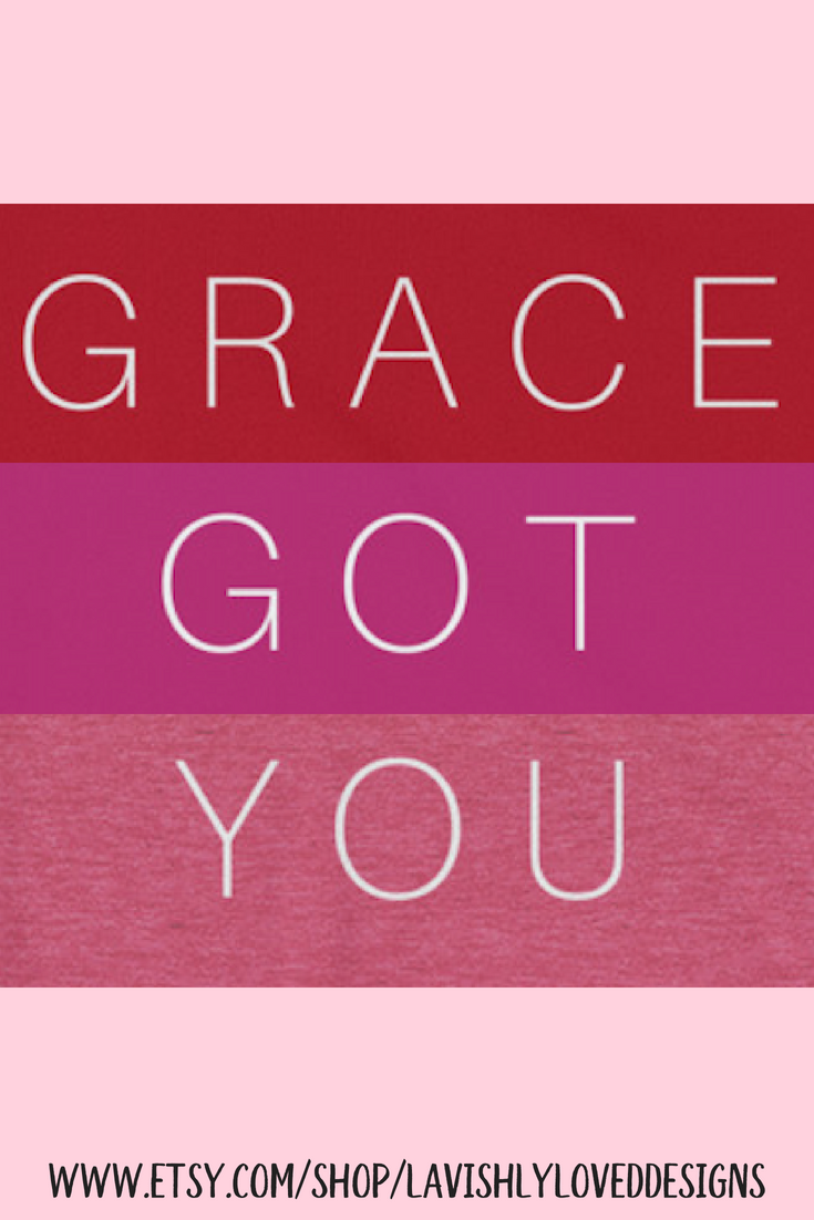 Grace Got You Mercy Me Christian T-Shirt Gift For Him Gift for Her ...