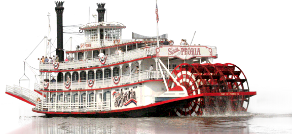 Mississippi River Cruises Paddleboat Brings Back The