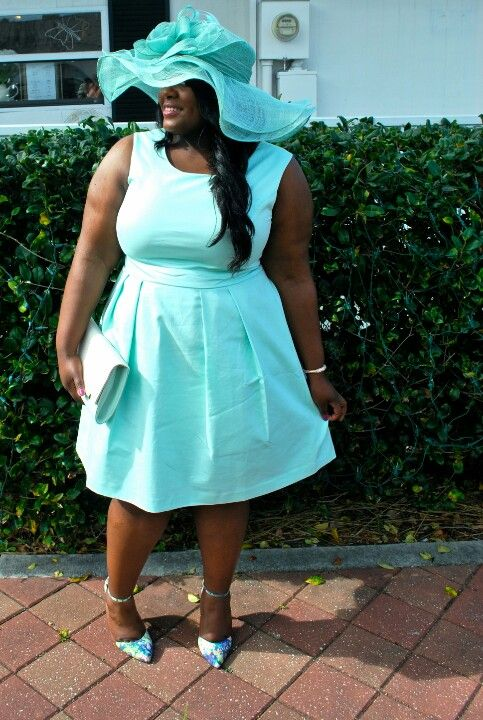 Tea Party Attire Styled by Plus Size Fashion Blogger Musings of a ...