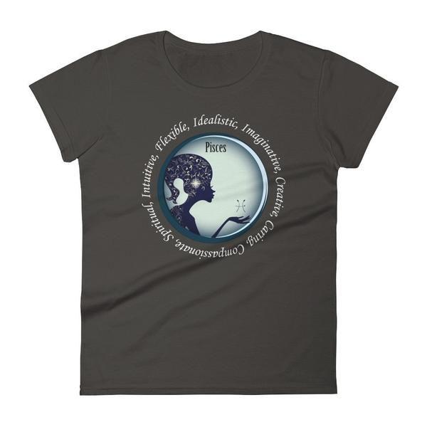 Pisces Girl - Women's short sleeve t-shirt