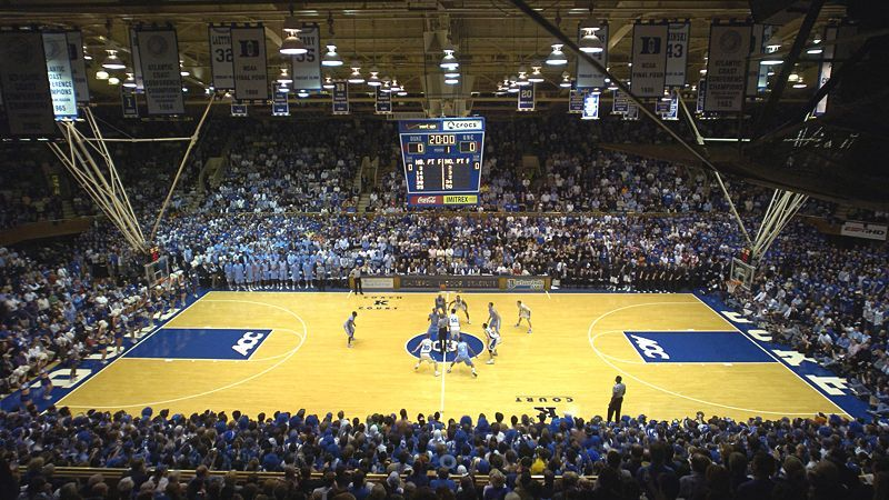 Cameron Indoor Stadium Seating Chart Duke Basketball Basketball Court Layout Stadium Basketball