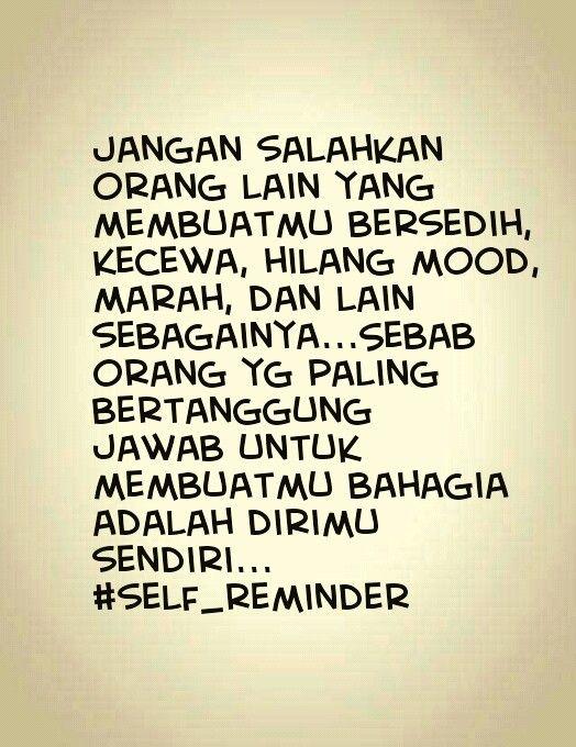 My Self Reminder Islamic Quotes Kata Kata Mutiara Bijak