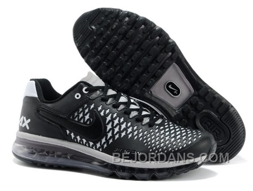 los angeles 4a1c0 909e2 CANADA 2014 NEW NIKE AIR MAX 2013 NEW MATERIAL MENS SHOES BLACK WHITE PWM5D  Only 95.00 ...