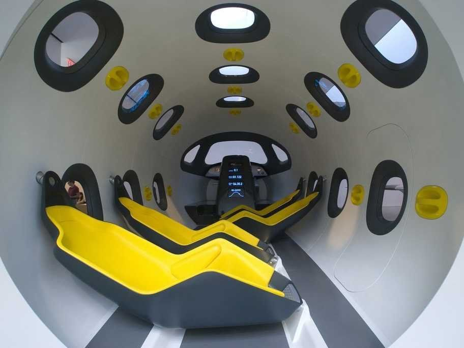 Newson Designed The Interior Of This Concept Spacecraft. Those  Comfortable Looking Chairs