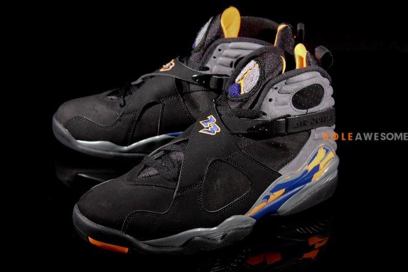 """Air Jordan 8 Retro """"Phoenix Suns"""" http   www.equniu. 0b0bea23b"""
