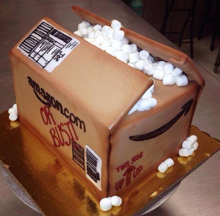 An amazon box cake cupcake birthday cake cupcake cakes