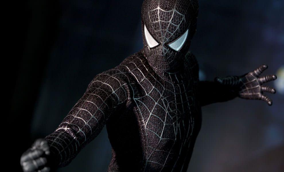 мне фото человека паука в черном костюме видео этой статье