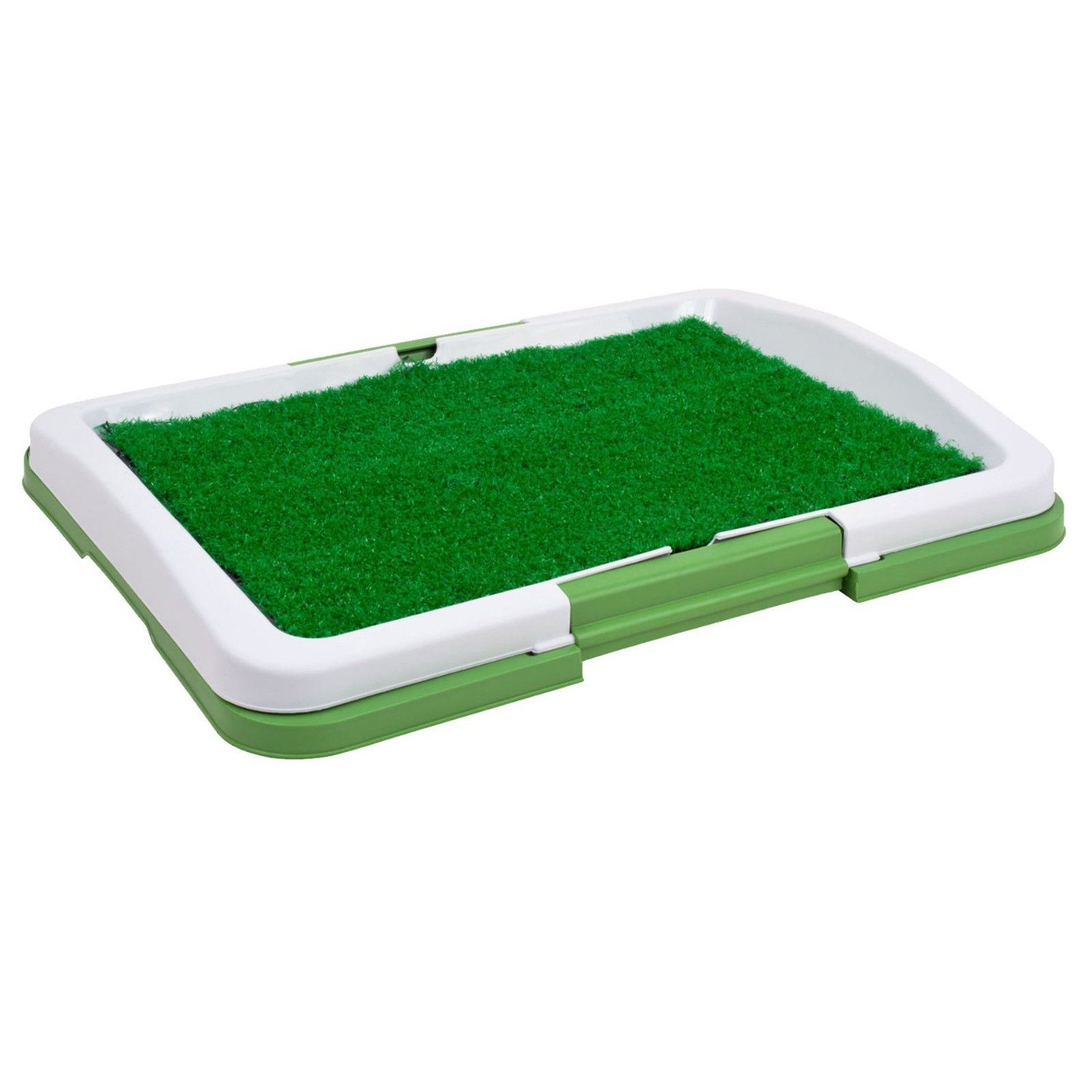 Puppy potty trainer indoor grass training patch with layer