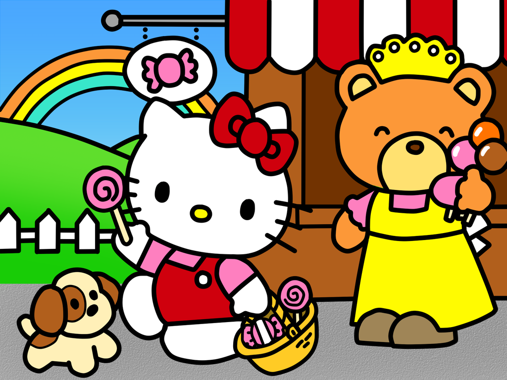 20ae0e698 Kitty Buy Candy (Coloring Book) by Kittykun123.deviantart.com on @DeviantArt